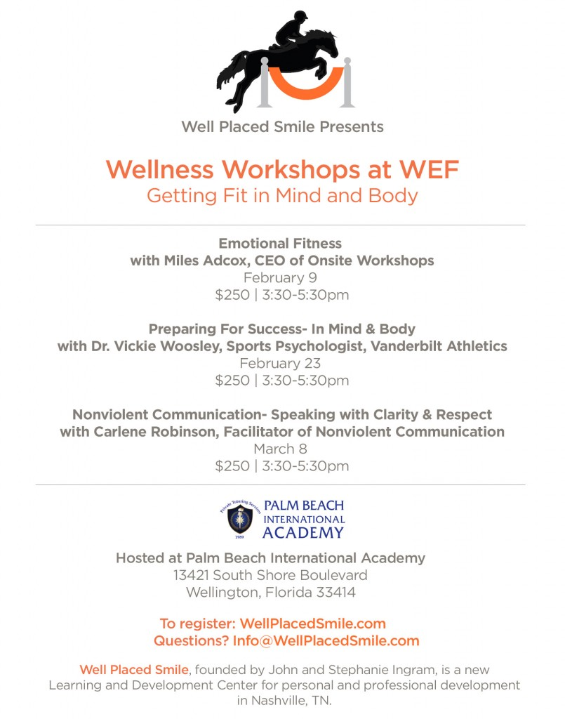 Wellness Workshops at WEF