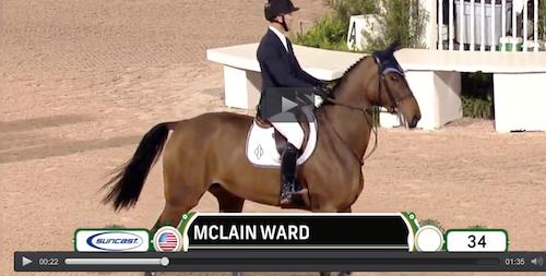 Watch McLain Ward and HH Azur in their winning jump-off round!