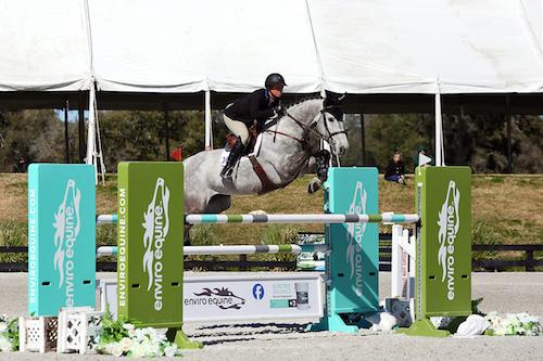 Caitlyn Shiels and Cavalier II