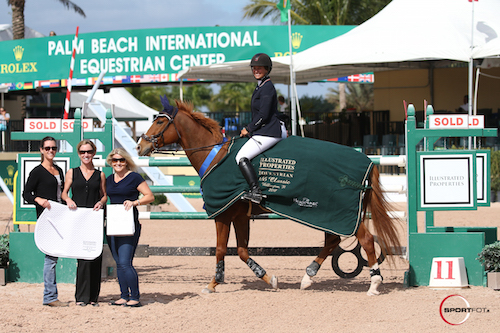 Lisa Goldman and Morocco in their winning presentation with Juli Sandoval, Katie Moon, and Louise Folkesson of Illustrated Properties.