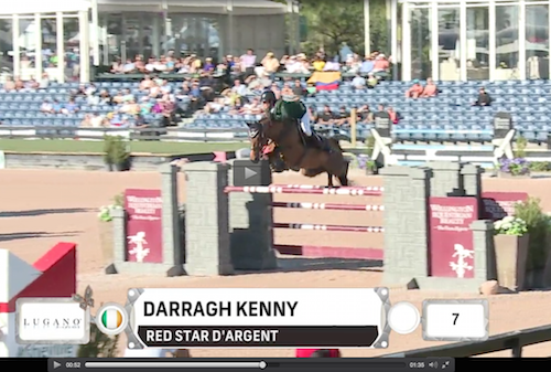Watch Darragh Kenny and Red Star d'Argent in their winning jump-off round!