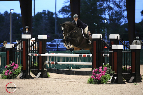 Sophie Michaels and Acortair finished third. Acortair was also named Best Turned Out Horse by the judges.