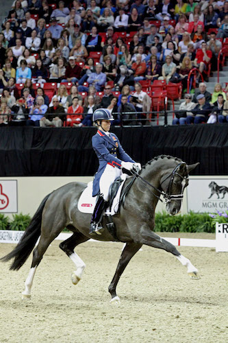 Dressage superstars Charlotte Dujardin and Valegro