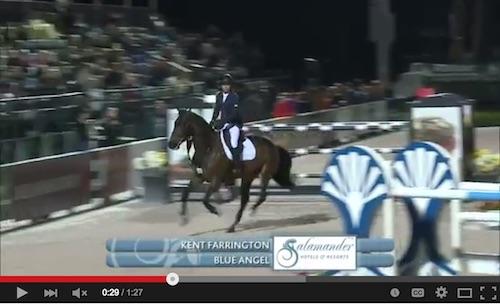 Watch Kent Farrington and Blue Angel in their winning round! http://youtu.be/Djsja-6iPtA