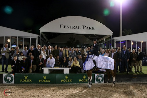 Maher and Diva II were also awarded the Herman 'Kappy' Kaplan Perpetual Memorial Trophy