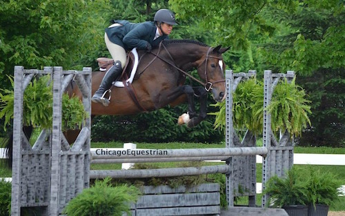 Caitlyn Shiels and Serafina by Chicago Equestrian